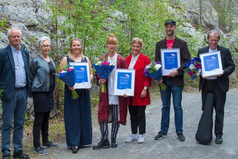Västerbottens kulturstipendiater uppvaktades vid Mötesplats Lycksele
