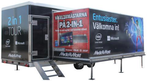 Media Markt presenterar Intel & Microsoft 2-i-1 Experience tour i Göteborg