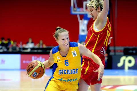 Basket: Frida och Ludde kan bli Årets spelare i Europa