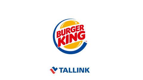 Tallink Grupp etabliert Fast-Food-Kette Burger King in Estland und dem übrigen Baltikum