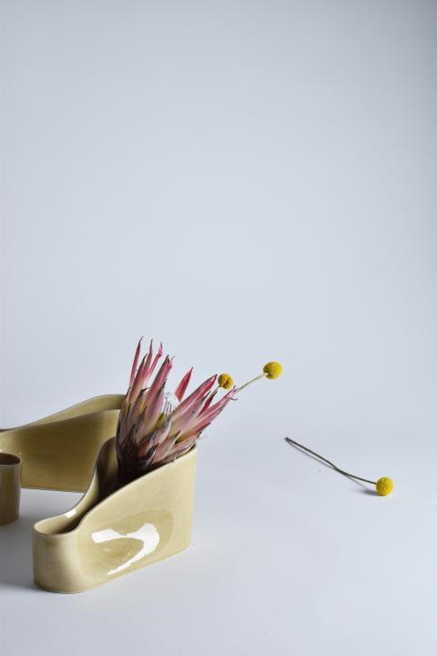 Vasen 21 ° – design Josefin Zachrisson och Kaori Agematsu