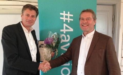 Tyresös mest företagarvänliga politiker 2014 är Dick Bengtson (m)!