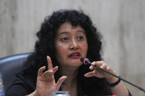 Domaren som dömde Guatemalas folkmord på besök i Sverige