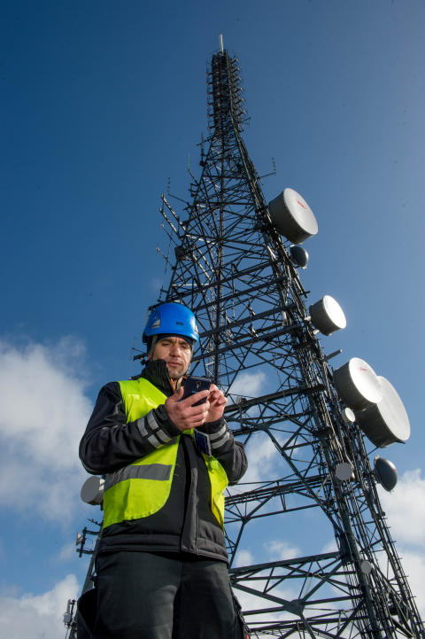Mobile boost for Mold as EE expands its 4G coverage