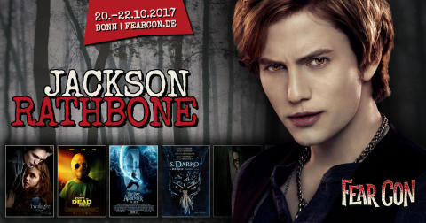 Jackson Rathbone - Twilight Superstar kommt zur Halloween Convention FearCon nach Bonn