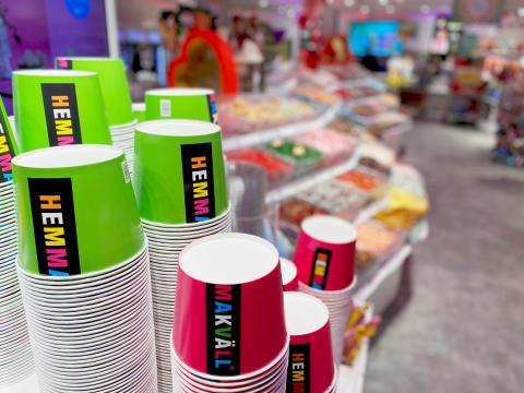 Hemmakväll återvänder till Jönköping med butik fylld av godis