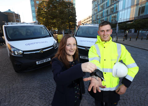 BT's Northern Ireland engineering division renamed Openreach Northern Ireland