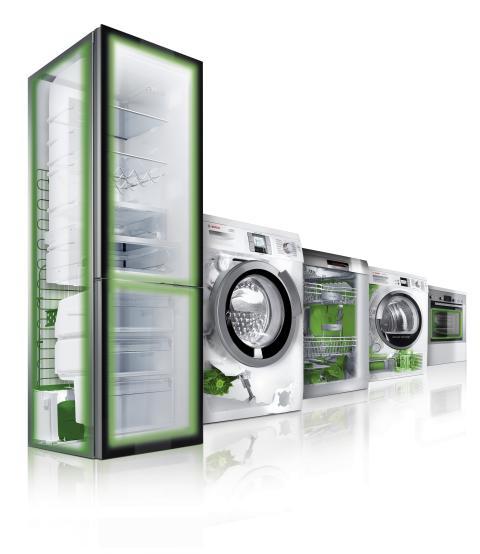 Nya energieffektiva vitvaror för en hållbar framtid – Bosch grönvaror sparar el i vinter