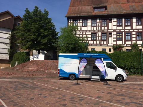 Beratungsmobil der Unabhängigen Patientenberatung kommt am 14. Februar nach Villingen-Schwenningen.