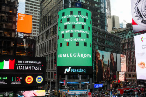 Humlegården på Nasdaq Stockholm Sustainable Bonds List