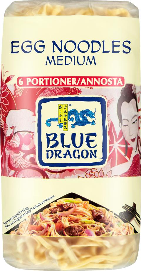 Blue Dragon Äggnudlar medium