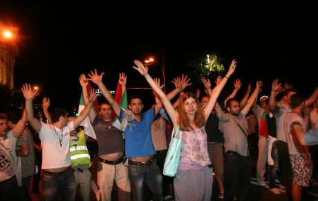 Krav på utredning om polisvåld efter sammandrabbning i Bulgarien