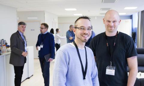 Alex Mårtensson och Dan Pamp Rasmussen, BA Trading Hydraulics AB