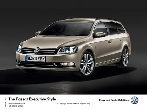 New VW Passat Executive and Executive Style add value and style for 2014