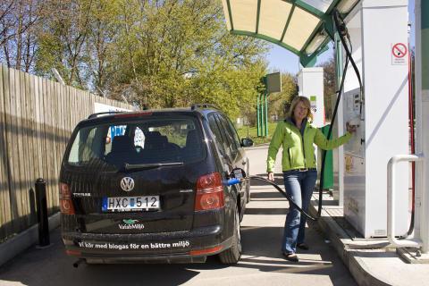Nytt tankställe för biogas öppnar i Fagersta