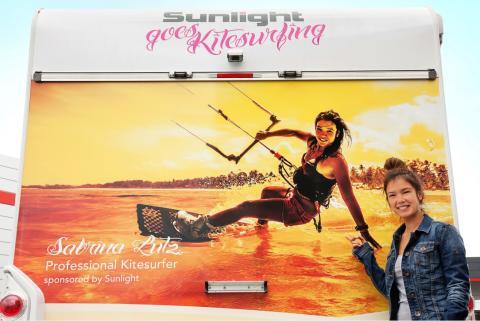 Mehr Freiheit geht nicht – Sunlight goes Kitesurfing