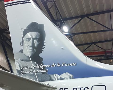 Rodríguez de la Fuente ya vuela con Norwegian.