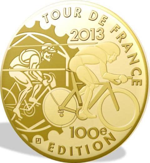 Tour De France 2013 - gullmynt