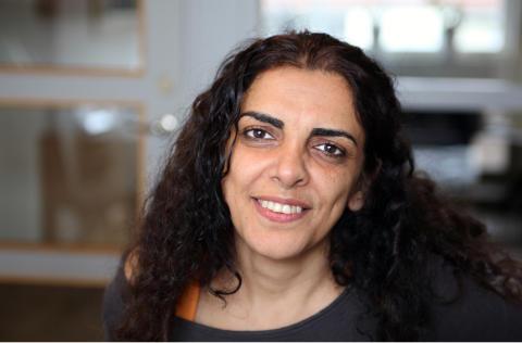 Parvin Ardalan får priset Årets kvinnogärning 2014