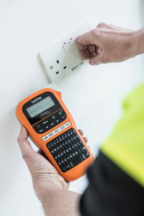Brother launches new labelling device for electricians