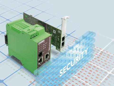 mGuard - IT-sikkerhed til industrielle Ethernet netværk