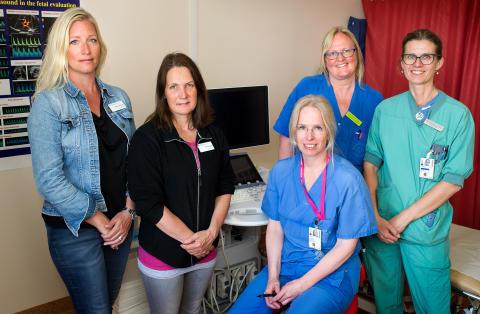 Teamet bakom förbättrat omhändertagande av gravida med fetma