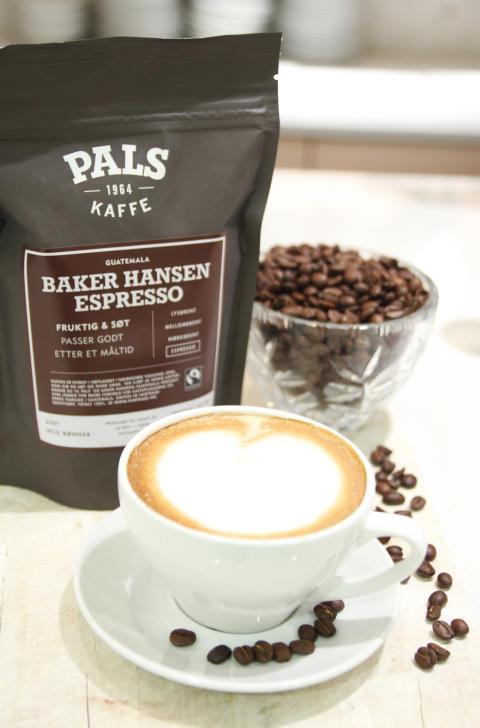 Nyhet hos Baker Hansen - Kaffebønner til ditt hjemmebryggeri.