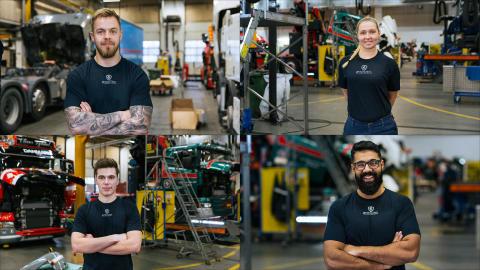 Danmarks kampagne 'Jobbet der aldrig står stille' vinder Scania Communications Award