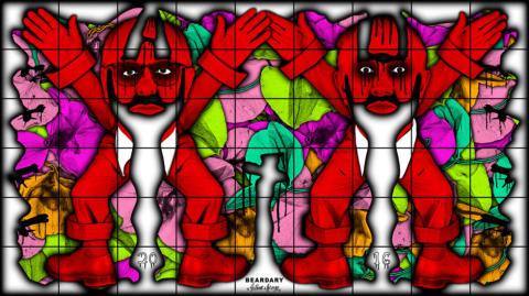 Gilbert & George, BEARDARY, 2016