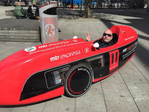 MTR Express på plats vid Kulturkalaset i Göteborg