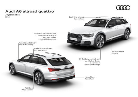 Audi A6 allroad quattro - 20 years-Edition