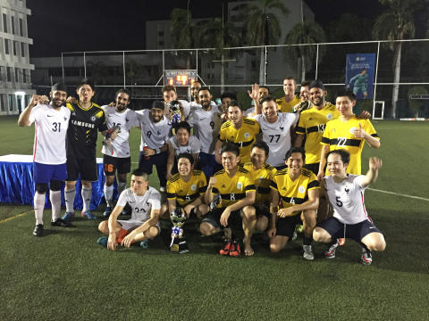 Alumni from Eight Schools Join NIST's Alumni Sports Tournament