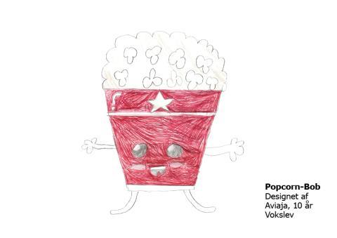 Aviaja 10 år Popcorn-Bob
