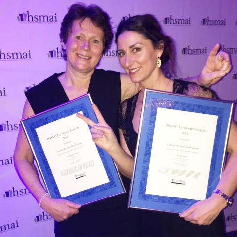 Radisson Blu fick honor awards i två kategorier på HSMAI European Marketing Awards 2015