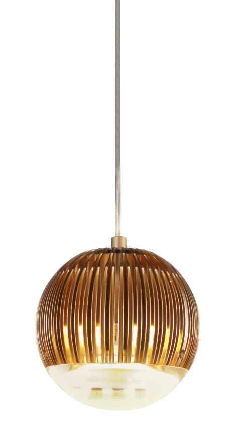 Pendeln Fin Light Round Copper från Tom Dixon - Tele2 Arena
