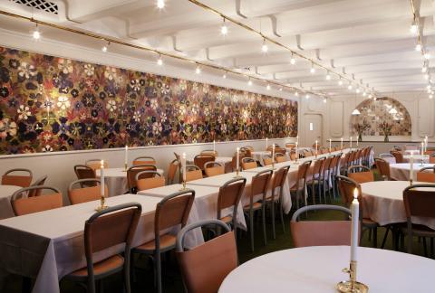 Stadshuskällaren - Linné dining room. Photo: Emma Jönsson/Stadshuskällaren