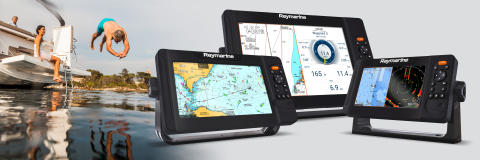 FLIR lancerer Raymarine Element S navigationsdisplays