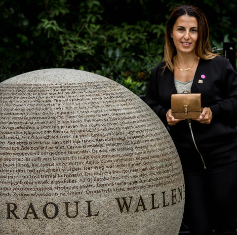 Uppsalabon Mariet Ghadimi tilldelas Raoul Wallenbergpriset 2017