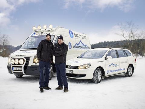 Volkswagen startar mobil verkstad i fjällen