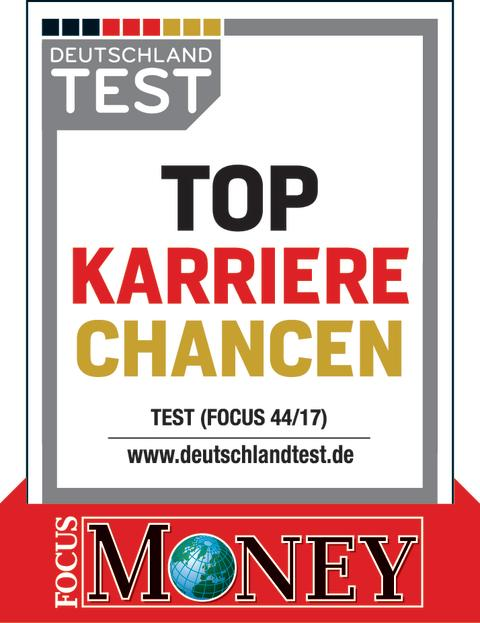 DEUTSCHLAND TEST-Siegel 'Top-Karrierechancen'