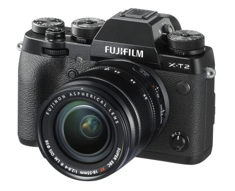 FUJIFILM X-T2 with XF18-55mm F2.8-4 front
