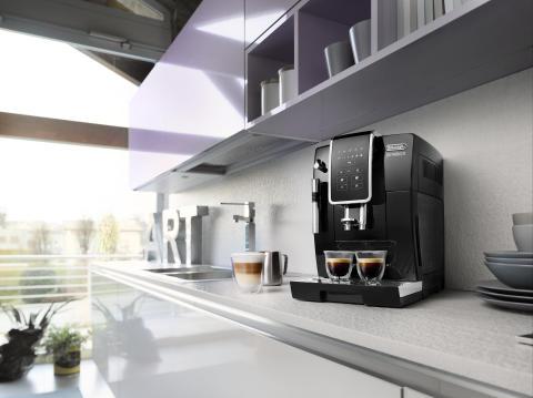 Ett knapptryck från en perfekt kopp kaffe – De'Longhi Dinamica nu i butik