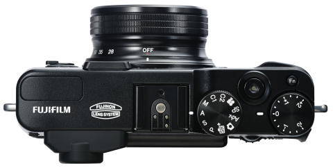 FUJIFILM X20 black top