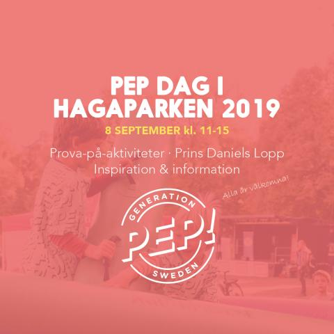Pep Dag i Hagaparken 2019