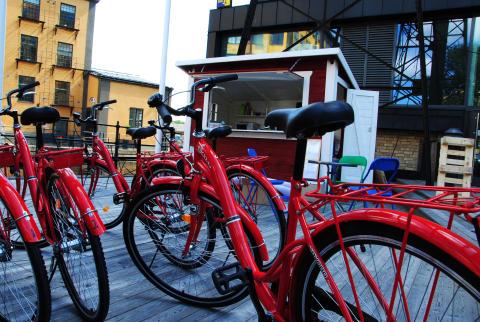 Cykeluthyrning i Norrköping