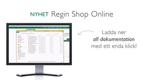 """""""Nu snabbar vi på energieffektiviseringen""""  – Regin lanserar webbshop och digital dokumentation"""