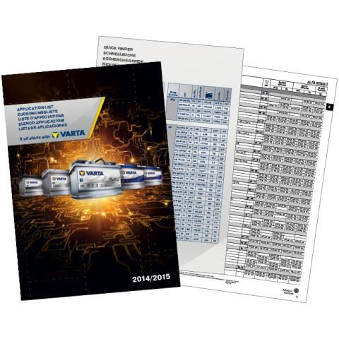 Ny VARTA® batteri-til-kjøretøy-liste
