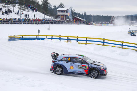 Hyundai Motorsport - Rally Sweden