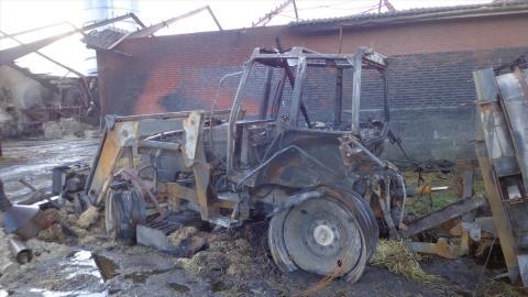 Tørken øger risiko for storbrande i landbruget