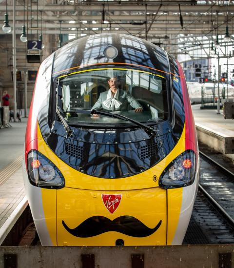 Virgin Trains names train after Scottish cultural icon Charles Rennie Mackintosh